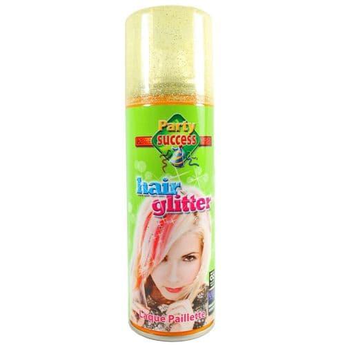 Temporary Hair Colour Spray Hairspray Party Success - Gold Glitter